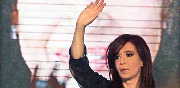 כריסטינה קירשנר, נשיאת ארגנטינה / צלם: רויטרס